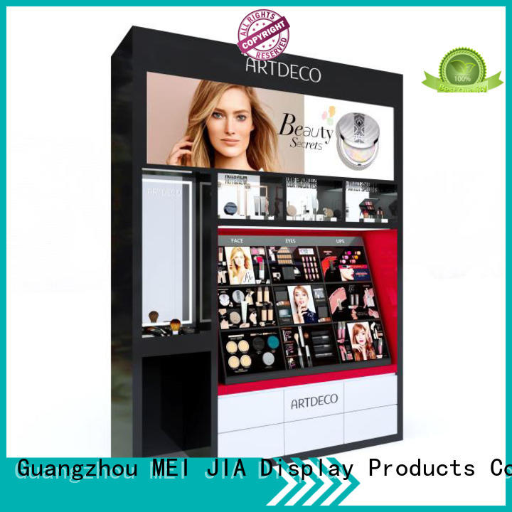 MEI JIA Display cosmetics Artdeco brand table factory for exclusive shop