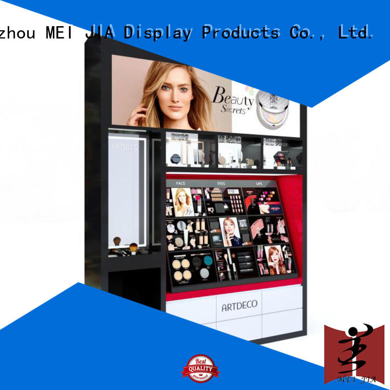 fashional cosmetic display counter holder for showroom