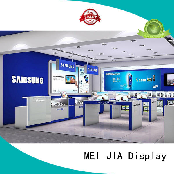 MEI JIA Display Latest mobile phone counter manufacturers for counter