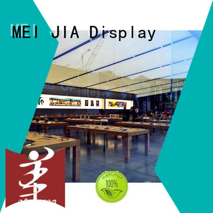 MEI JIA Display colorful shop display cabinets shop for shoppe