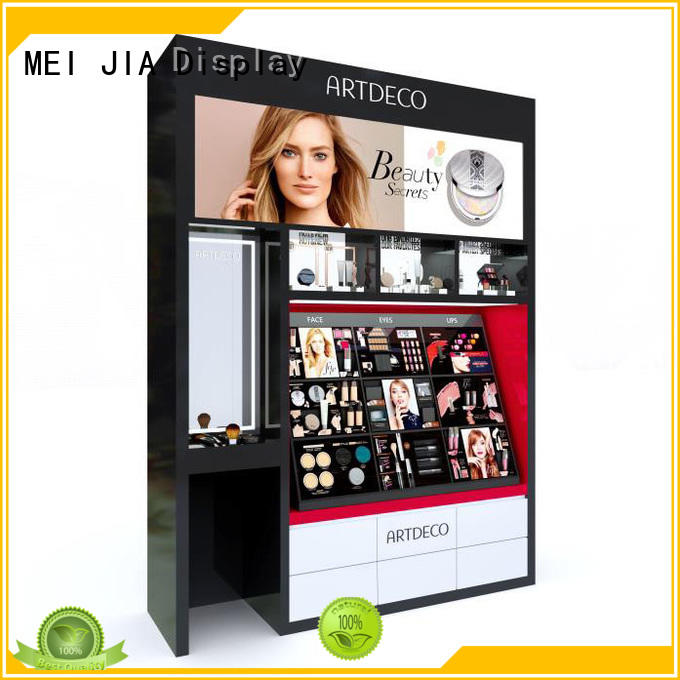 Wholesale cosmetic display cabinet makeup factory for shop