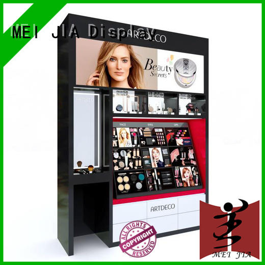 MEI JIA Display stand makeup display cabinet supply for shop